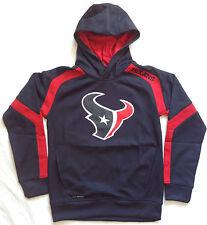 Houston TEXANS NFL Gameday Synthetic YOUTH Hoodie Sweatshirt sz M (10/12)