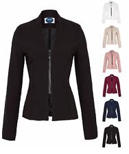 AO Eleganter Blazer mit Reißverschluss S  M L XL 36 38 40 42 Blogger Business