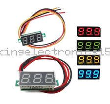 """0.28"""" DC 0-100V / 2.5-30V 2/3-Wire Voltmeter LED Display Voltage Panel Meter K9"""