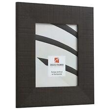 "Craig Frames Chesterton, 3"" Dark Walnut Oakwood Brown Picture Frame Poster Frame"