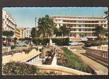 JUAN LES PINS (06) PEUGEOT 403 & VOLKSWAGEN COX au GRAND HOTEL en 1960