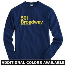 Nashville Hockey Stadium Long Sleeve T-shirt - LS Men S-4X - Gift Predators Fan