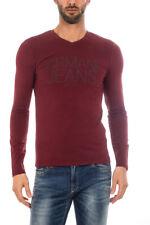 T-shirt Armani Jeans AJ T-Shirt Sweatshirt % Uomo Bordeaux 6X6T116J0AZ-1492