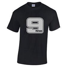 Danilo Petrucci 9 Motogp Rider for Ducati Silver text shirts sizes to 5XL