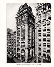 Película para impresión 1898 Chicago ~ Y.M.C.A. joven Asociación Cristiana para hombre 153 y 155 La Salle