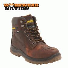 Dewalt Titanio Cuero Workwear Zapato Bota puntera de acero de la PAC pu/tpu Suela marrón