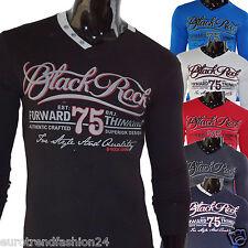 Top T-Shirts Shirt Herren Long Oberteil Pulli Engsitzende Clubwear T-Shirt Neu