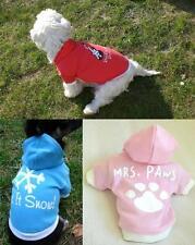 Hunde shirt Hemd OP Schutzhemd Baumwolle Pullover XS S M blau rosa rot klkxde