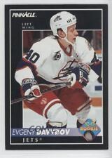 1992-93 Pinnacle 226 Evgeny Davydov Montreal Canadiens Winnipeg Jets Hockey Card