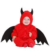 Teufel Fuzzy Kostüm Gr. 80 92 Teufelchen Halloween Babykostüm 121894D13
