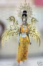 Da NeeNa C602 Indonesian Angel Vegas Showgirl Dance Crystal  Costume Set