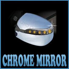 Chrome Side Mirror Cover LED For 10 11 Hyundai Tucson