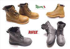 OFFERTA RIFLE Classic scarponcini stivaletti boots unisex bambino donna cerniera