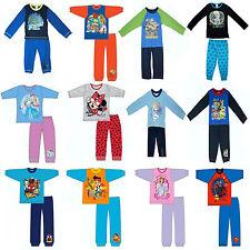 Kids TV Character & Disney 2 pc Pyjama Nighty Sleepwear PJ Set Brand New Gift