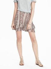 NWT Banana Republic New Women Tiered-Ruffle Mini Skirt Size 10