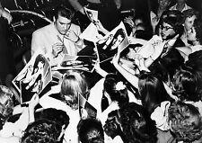 Art Print POSTER Elvis Presley Signing Autographs