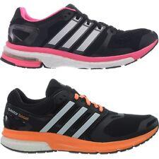 Adidas Adistar/Questar Boost Damen-Laufschuhe schwarz mit pink oder orange NEU