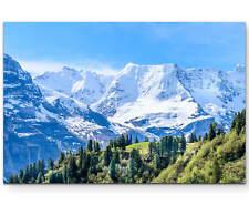 Berge in den Alpen als Premium Leinwandbild