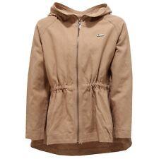 8709T giacca bimba parka TWIN-SET SIMONA BARBIERI cotone/lino beige jacket kid