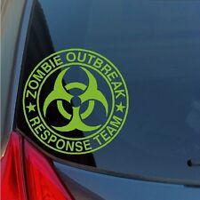 Zombie Outbreak Response Team vinyl sticker decal apocalypse biohazard AR15 gun