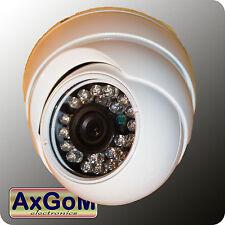 Dom colore telecamera di sorveglianza-UTC OSD vandalismo-sicura a infrarossi -24 LED Effio