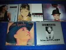 lot 5 CD maxi KIM APPLEBY Don't Worry GLAD mama SPIRIT