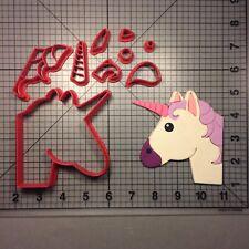 Unicorn Emoji 100 Cookie Cutter Set