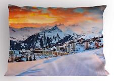 Alps Landscape Pillow Sham Decorative Pillowcase 3 Sizes Bedroom Decoration