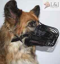 Metal Basket Antifreeze Muzzle for Winter German Shepherd , Labrador and other