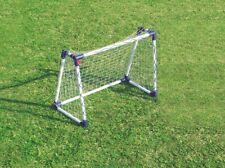 Fußballtor mit Netz Kunststoff PVC Fußball Tor Garten wetterfest Outdoor NEU