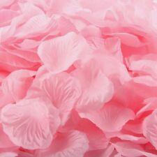 LIGHT PINK SILK ROSE PETALS FLOWER TABLE DECORATION CONFETTI WEDDING PARTY