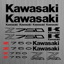 Kawasaki Z750 aufkleber sticker motorrad motorcycle 18 Stücke Pieces