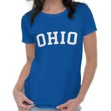Ohio State Shirt Athletic Wear USA T Novelty Gift Ideas Womens T-Shirt