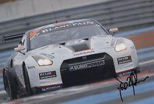 FIA GT1 WC David BRABHAM HAND SIGNED PHOTO 12x8 6