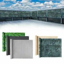 0.9*6m Balkonsichtschutz Balkonbespannung Windschutz Sichtschutz Markise PVC
