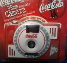 COCA-COLA REUSABLE 35MM CAMERA BRAND NEW NIB 1999 SOFT DRINK COLLECTOR FILM