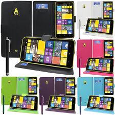 Schutzhülle für Nokia Lumia 1320 Handy Brieftasche Flip Case Cover
