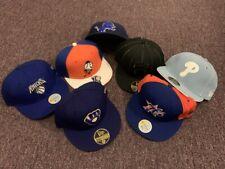 NBA NFL MLB Fitted Baseball Caps, Size 7-1/8, Reebok and New Era Original