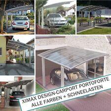 XIMAX Design-Carport Portoforte ALLE FARBEN + SCHNEELASTEN