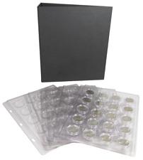 Cornerstone Coin Holder Binder Album Model A Small Capsule Page Case Storage