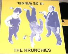 THE KRUNCHIES In De Winkel LP RARE INDIE PUNK