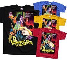 El vampiro de la autopista, movie poster 1971, T-Shirt (BLACK) ALL SIZES S-5XL