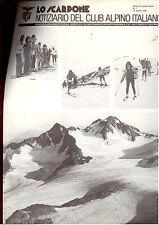 E8  LO SCARPONE - CLUB ALPINO ITALIANO N. 7 - APRILE 1981