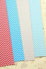 Fine Chevrons Cardstock 250gsm zigzag paper card stock wedding craft postcards