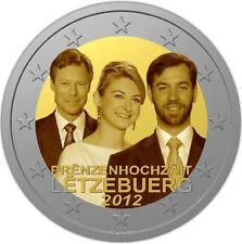 2 Euro Sondermünze LUXEMBURG 2012 / 2013, Guillaume / Stephanie, VersandFREI