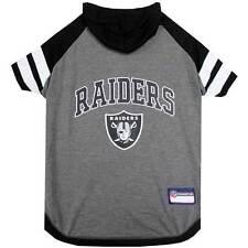 Oakland Raiders Tee Hoodie NFL Dog Pet shirt (all sizes)
