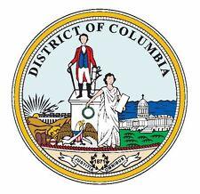 Seal of Washington DC Sticker / Decal R682