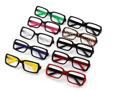 Unisex Rétro In Plastica montature occhiali Accessori n lenti Costume