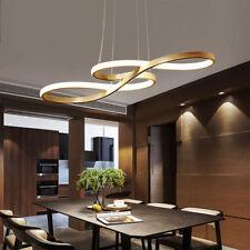 58W Modern LED Chandelier Music Notes Curve Pendant Light For Restaurant CafeBar