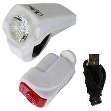 set lámpara-LED-con bateria Linterna batería Luz De La Bicicleta